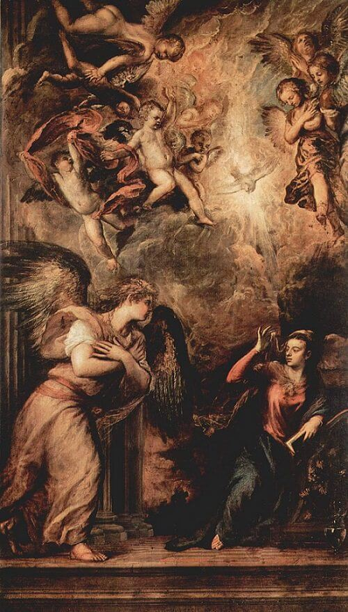 Annunciation, 1559-64 by Titian