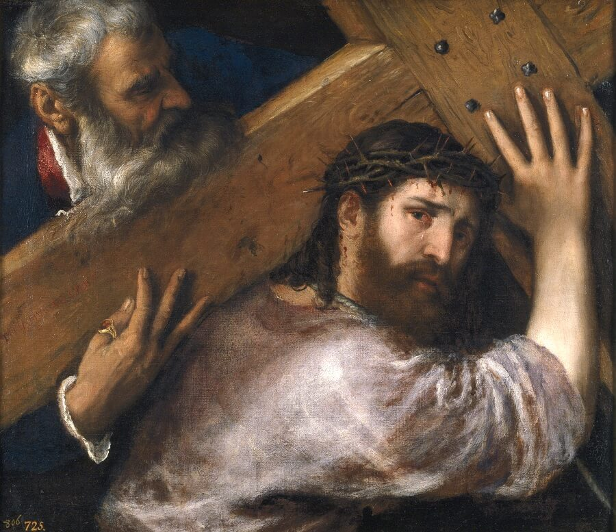 Christ Carrying the Cross, 1508 by Titian