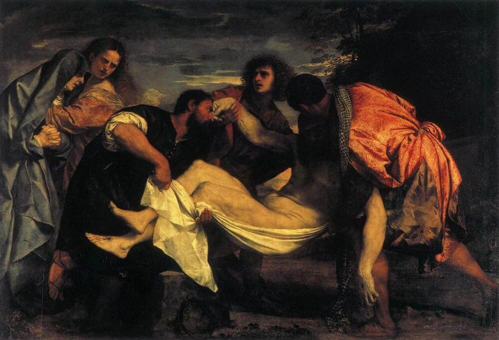 Entombment of Christ, 1526 by Titian