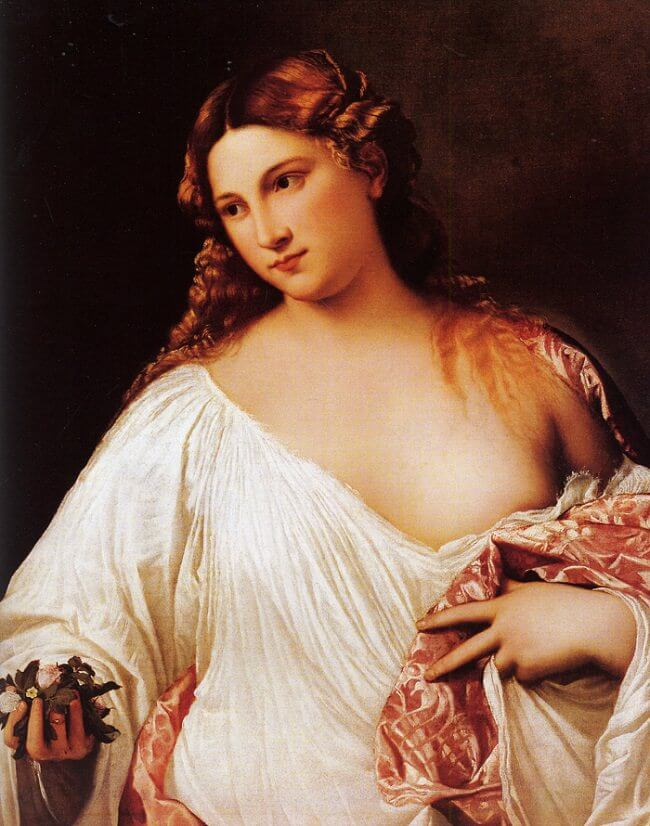 Flora, 1516-20 by Titian