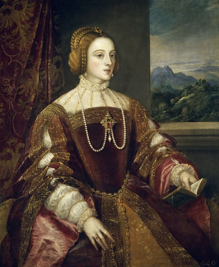 Isabella of Portugal, 1548 by Titian