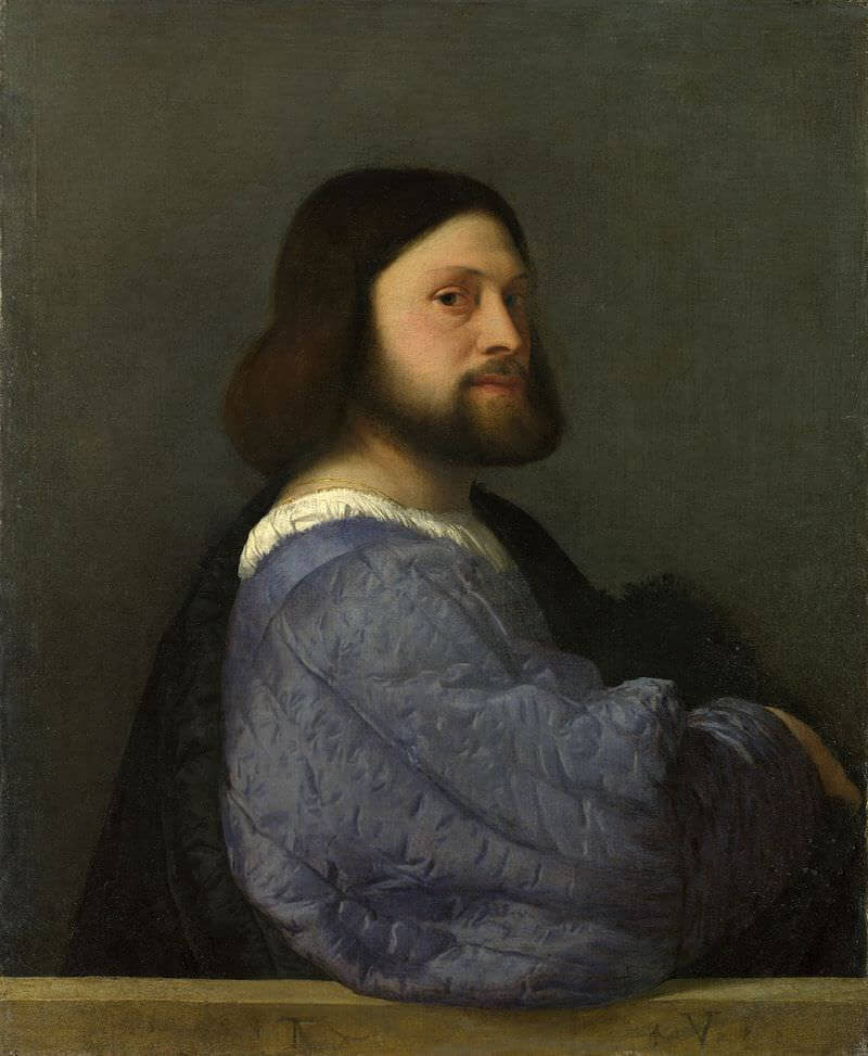 Portrait of a Man, 1512 by Titian