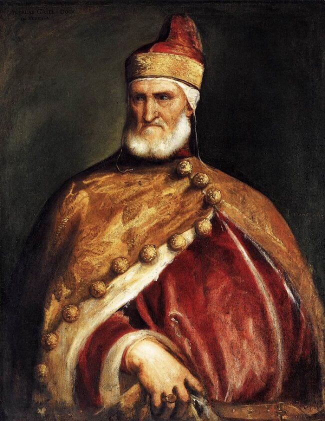 Doge Andrea Gritti, 1546 by Titian