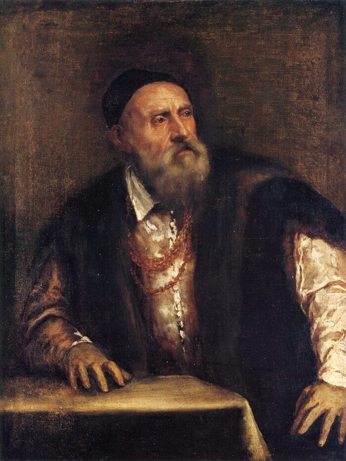 Self Portrait, 1555 by Titian