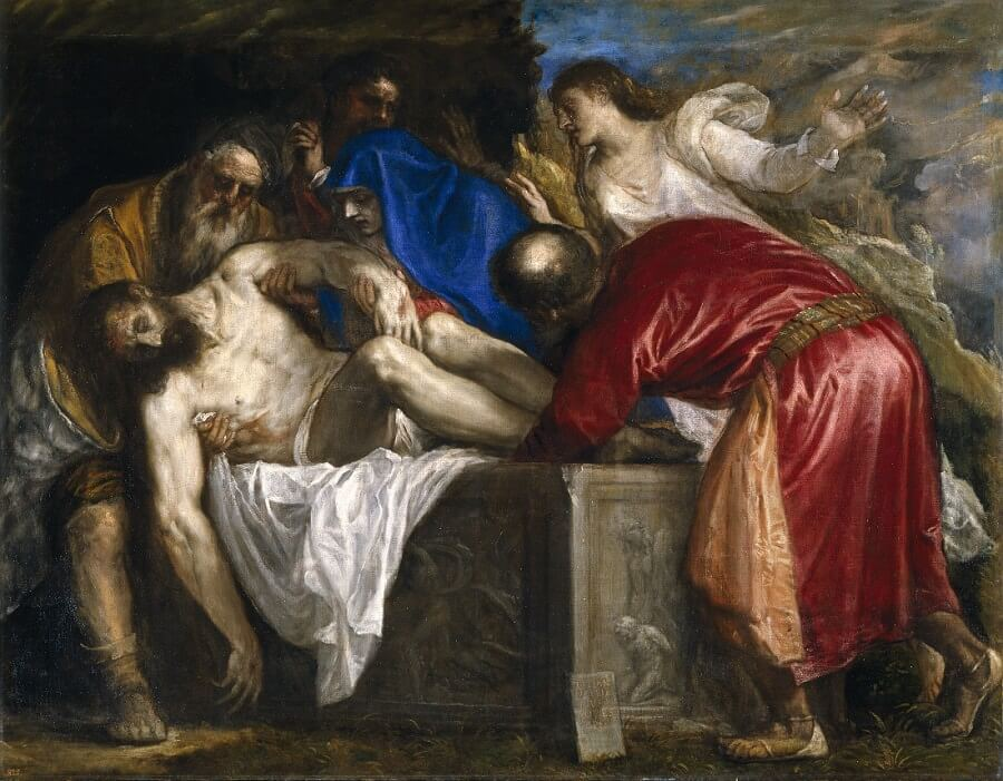 Th Entombment, 1559 by Titian