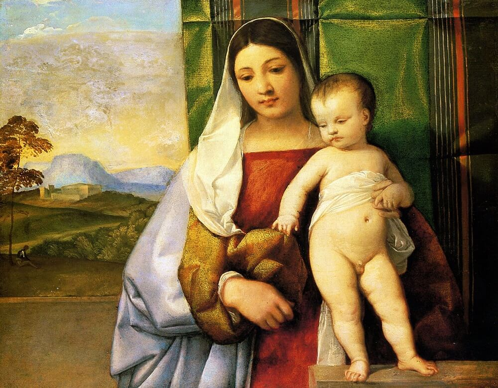 The Gypsy Madonna, 1510 by Titian