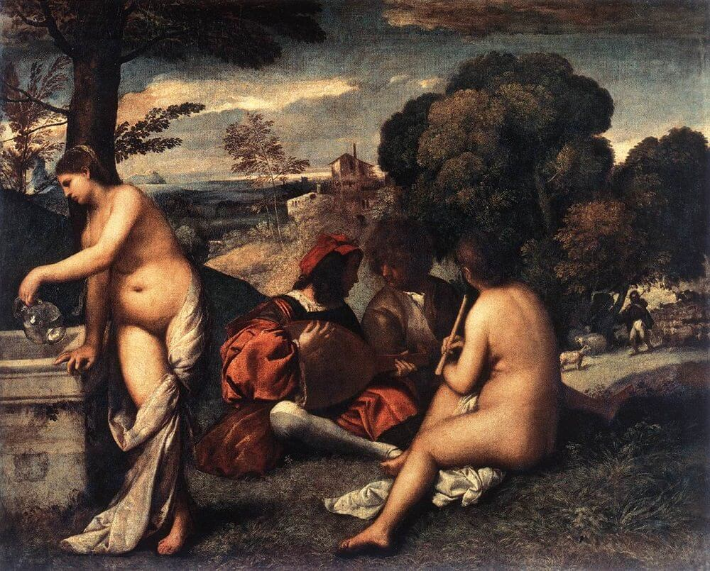 The Pastoral Concert, by Titian