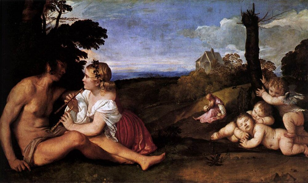 Three Ages of Man, 1515 by Titian