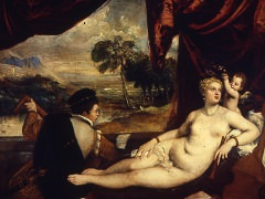 Venus and Lute Player
